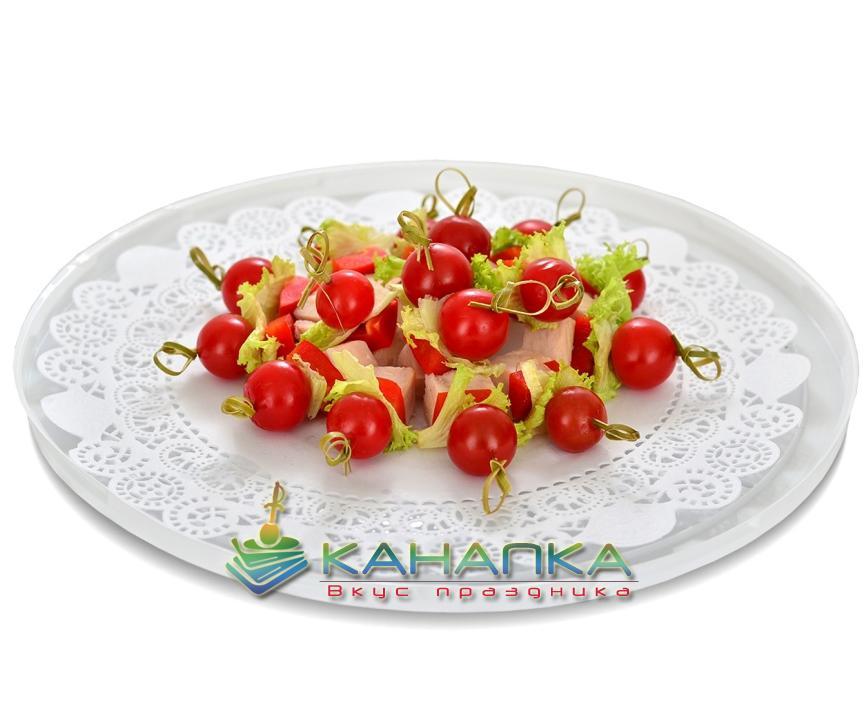 Канапе сэт «Закуска с копченой курицей и болгарским перцем» — 15 шт.