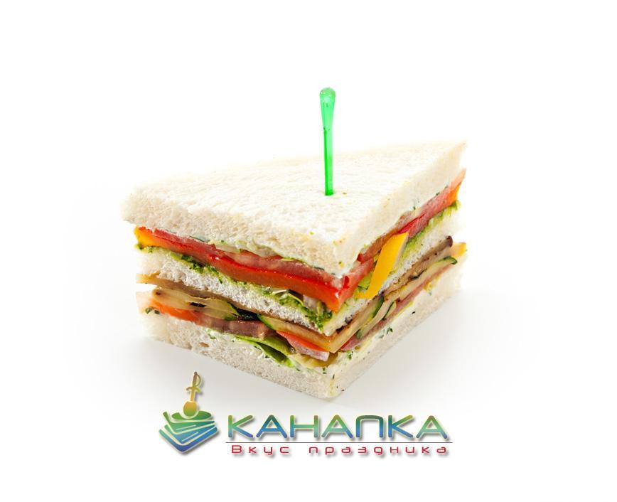 Снэк сэндвич вегетарианский