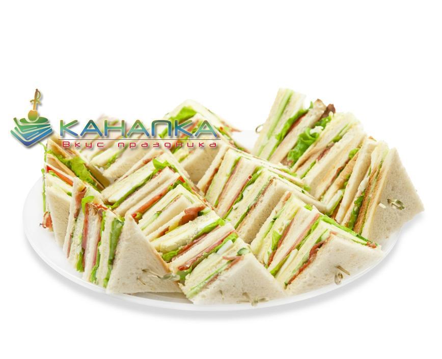 Клаб-сэндвич- 16 шт.