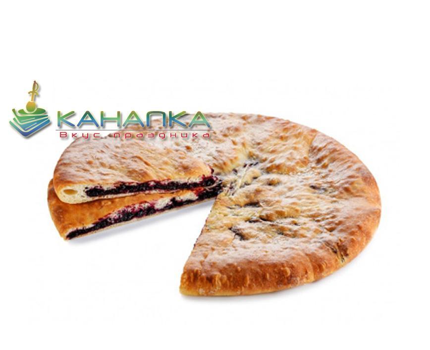 Осетинский пирог «С черной смородиной»